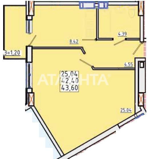 Продается 1-комнатная Квартира на ул. Люстдорфская Дор. (Черноморская Дор.) — 28 100 у.е.