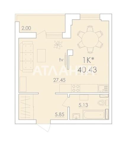 Продается 1-комнатная Квартира на ул. Сахарова — 25 300 у.е. (фото №5)