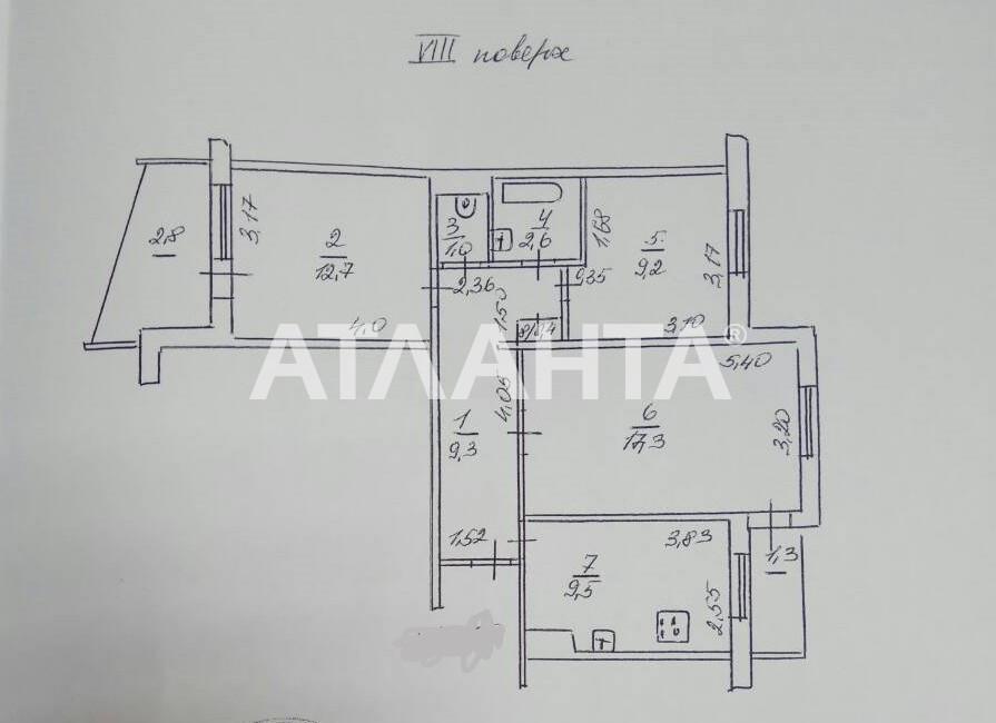 Продается 3-комнатная Квартира на ул. Королева Ак. — 44 000 у.е. (фото №16)