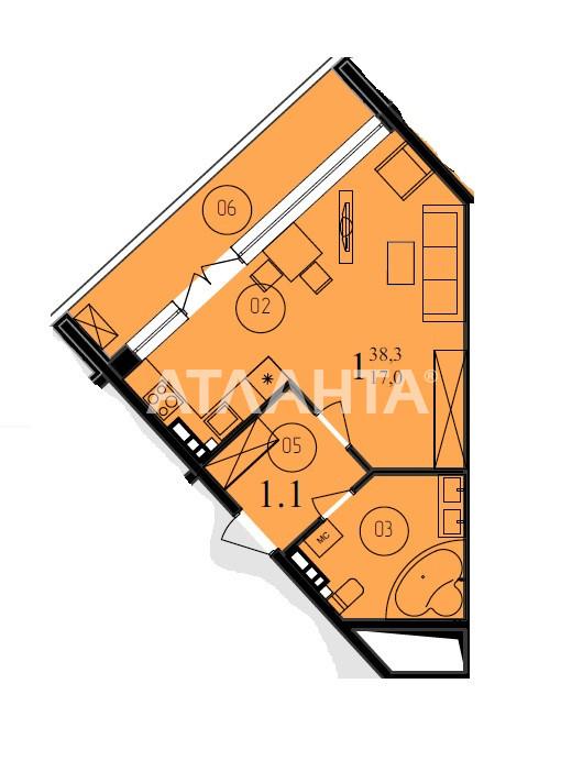Продается 1-комнатная Квартира на ул. Французский Бул. (Пролетарский Бул.) — 54 000 у.е. (фото №3)