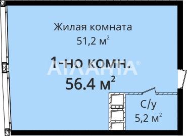 Продается 1-комнатная Квартира на ул. Новобереговая — 53 200 у.е. (фото №4)
