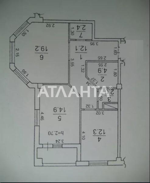 Продается 2-комнатная Квартира на ул. Дюковская (Нагорная) — 75 000 у.е. (фото №8)