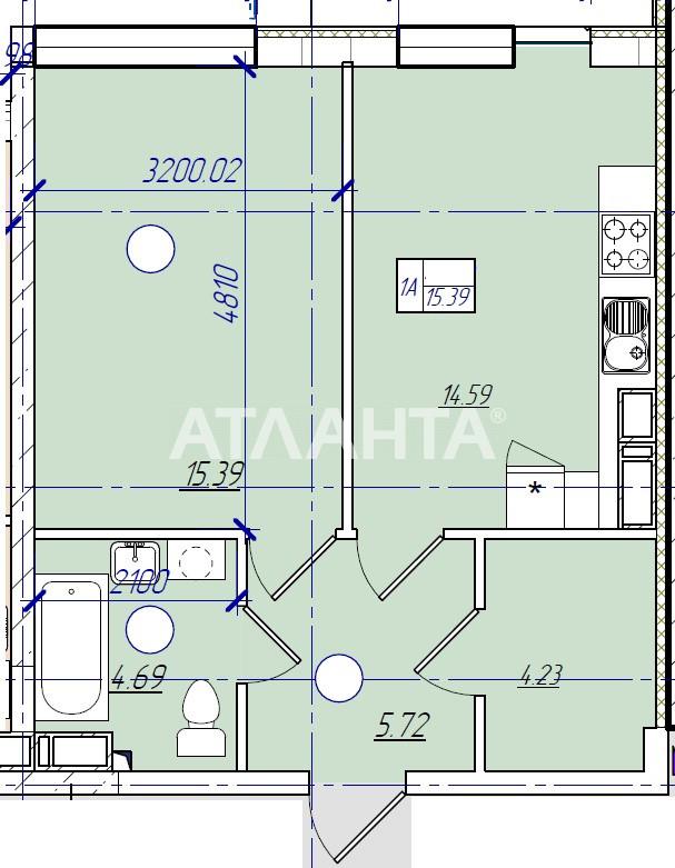 Продается 1-комнатная Квартира на ул. Филатова Ак. — 30 300 у.е.