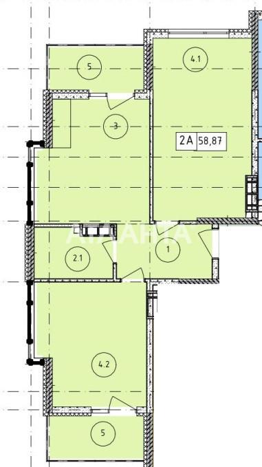 Продается 2-комнатная Квартира на ул. Филатова Ак. — 46 880 у.е. (фото №3)