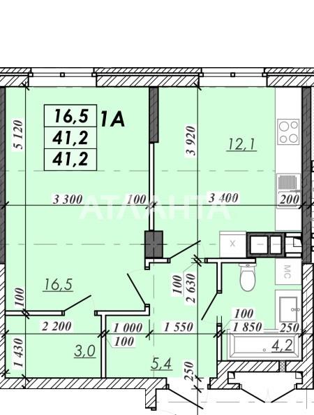 Продается 1-комнатная Квартира на ул. Овидиопольская Дор. — 21 390 у.е.