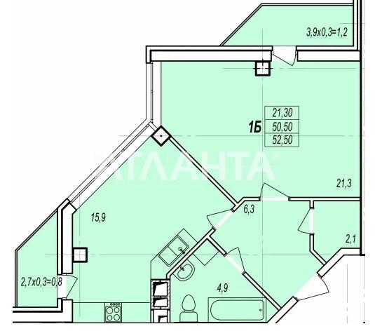 Продается 1-комнатная Квартира на ул. Жаботинского (Пролетарская) — 42 000 у.е. (фото №2)