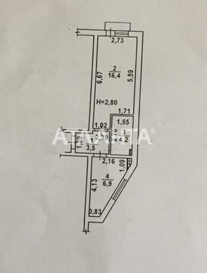 Продается 1-комнатная Квартира на ул. Бригадная — 33 000 у.е. (фото №2)