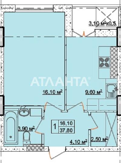 Продается 1-комнатная Квартира на ул. Долгая — 42 000 у.е. (фото №2)