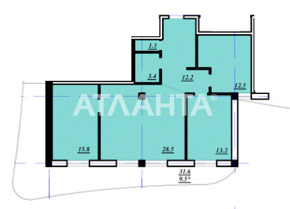 Продается 3-комнатная Квартира на ул. Тополевая — 85 000 у.е. (фото №4)