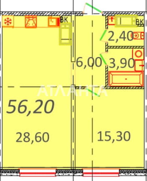 Продается 1-комнатная Квартира на ул. Пионерская (Варламова, Академическая) — 49 460 у.е.