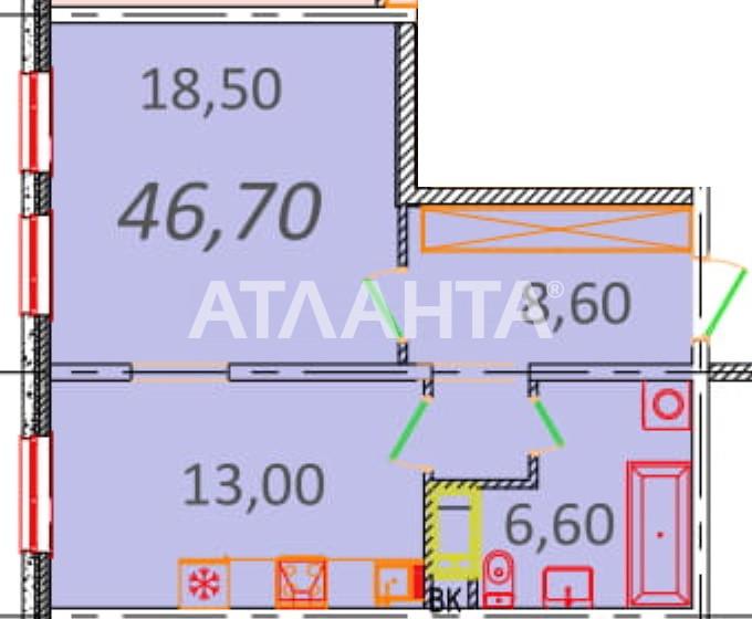Продается 1-комнатная Квартира на ул. Пионерская (Варламова, Академическая) — 40 160 у.е.