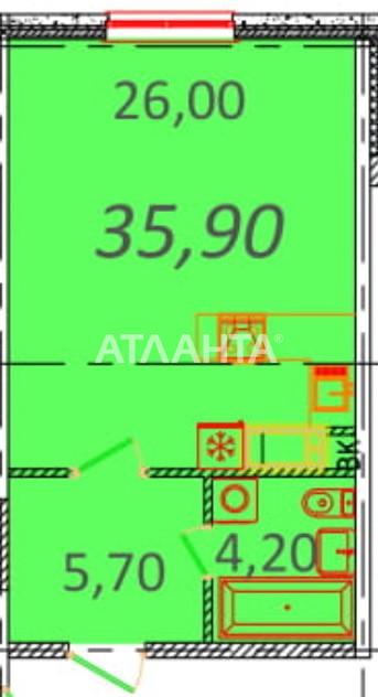 Продается 1-комнатная Квартира на ул. Пионерская (Варламова, Академическая) — 30 870 у.е.