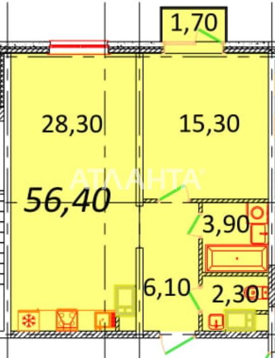 Продается 2-комнатная Квартира на ул. Пионерская (Варламова, Академическая) — 49 630 у.е.