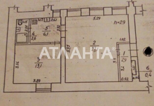 Продается 2-комнатная Квартира на ул. Ришельевская (Ленина) — 45 000 у.е. (фото №3)
