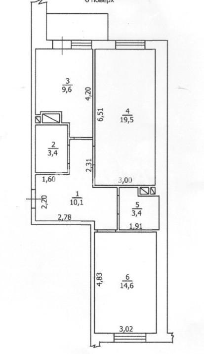 Продается 2-комнатная Квартира на ул. Жаботинского (Пролетарская) — 76 000 у.е. (фото №11)