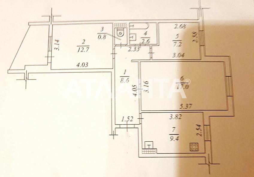 Продается 3-комнатная Квартира на ул. Высоцкого — 41 500 у.е. (фото №18)