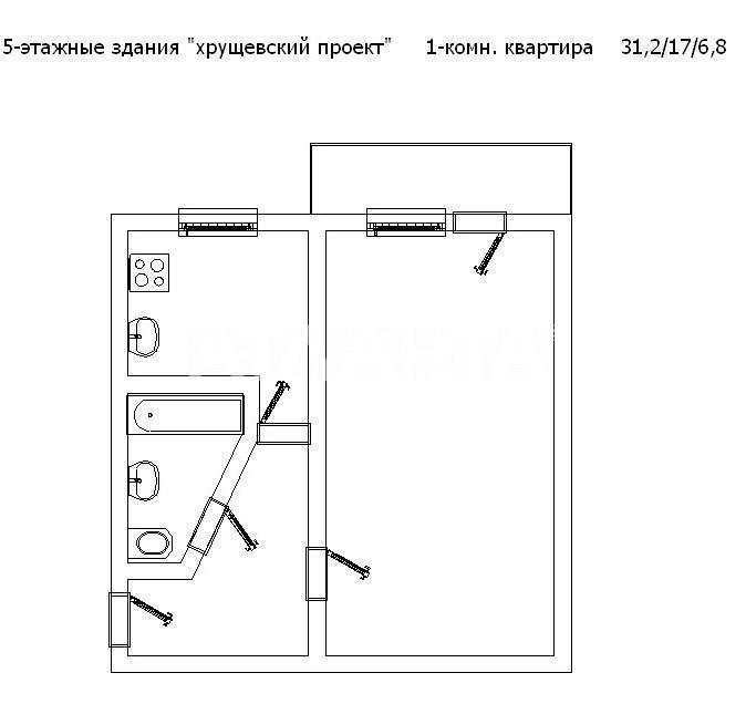 Продается 1-комнатная Квартира на ул. Героев Cталинграда — 24 000 у.е. (фото №10)