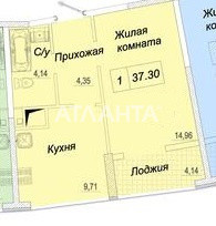 Продается 1-комнатная Квартира на ул. Каманина — 39 800 у.е. (фото №4)