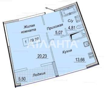 Продается 1-комнатная Квартира на ул. Каманина — 110 000 у.е. (фото №19)