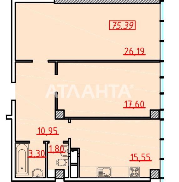 Продается 2-комнатная Квартира на ул. Большая Арнаутская (Чкалова) — 101 520 у.е. (фото №3)