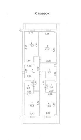 Продается 3-комнатная Квартира на ул. Французский Бул. (Пролетарский Бул.) — 170 000 у.е. (фото №4)