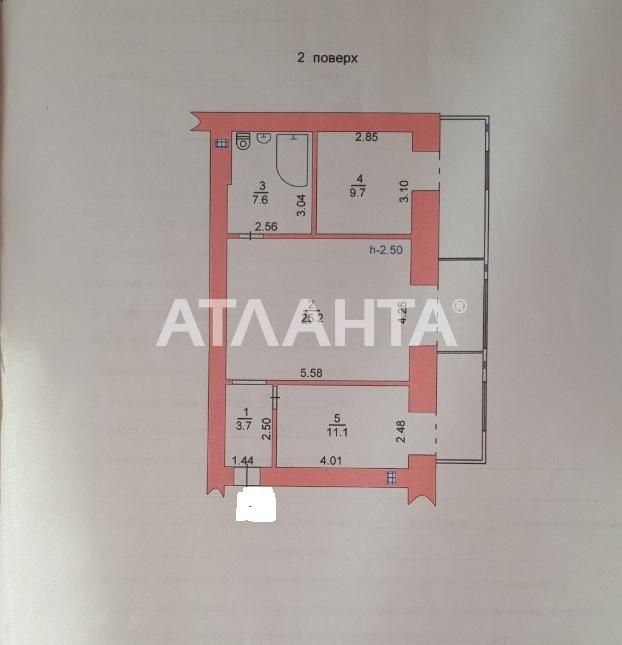 Продается 2-комнатная Квартира на ул. Мира Пр. (Ленина) — 52 000 у.е. (фото №17)