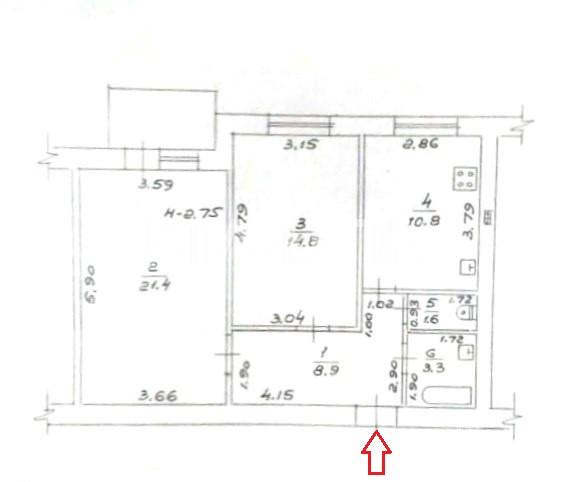Продается 2-комнатная Квартира на ул. Запорожская — 50 000 у.е. (фото №2)