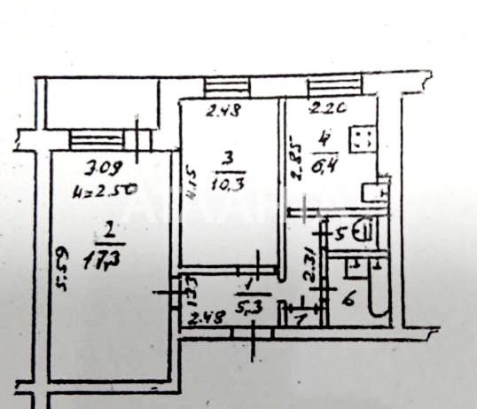Продается 2-комнатная Квартира на ул. Добровольского Пр. — 40 500 у.е. (фото №10)