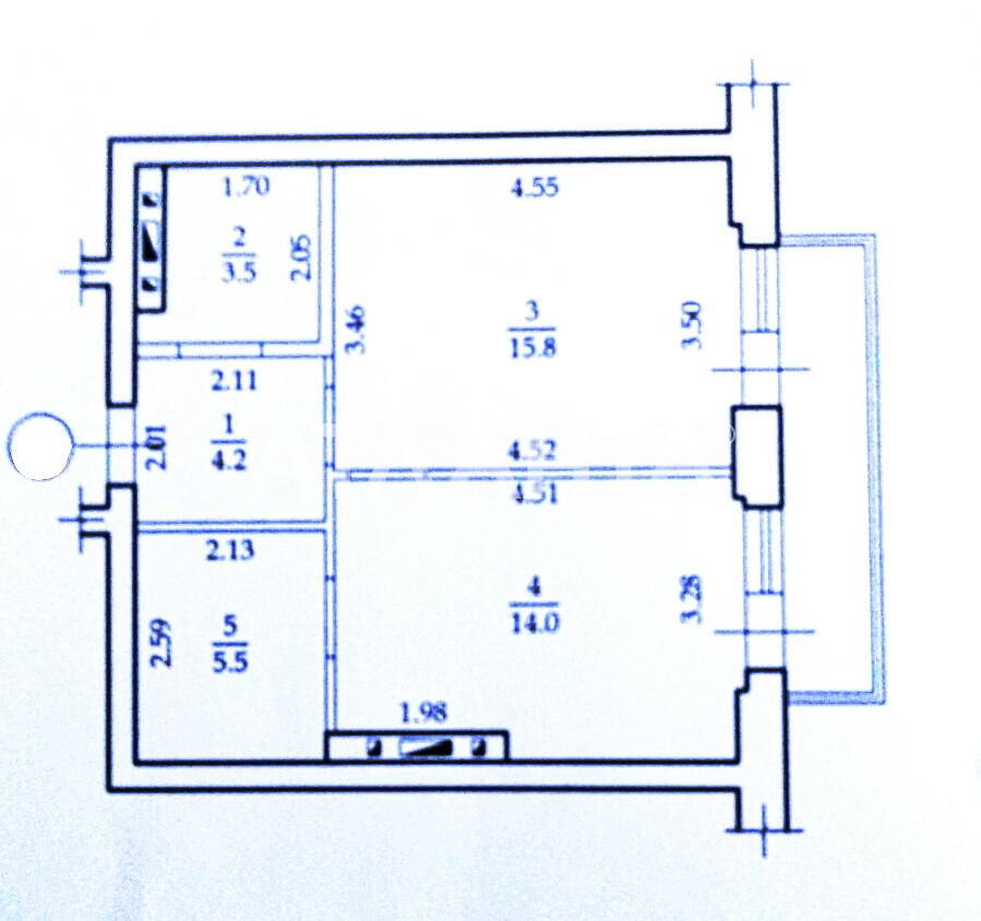 Продается 2-комнатная Квартира на ул. Днепропетр. Дор. (Семена Палия) — 40 000 у.е. (фото №7)