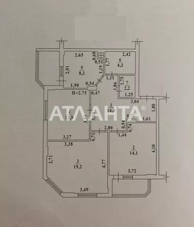 Продается 3-комнатная Квартира на ул. Радужный М-Н — 78 500 у.е. (фото №9)