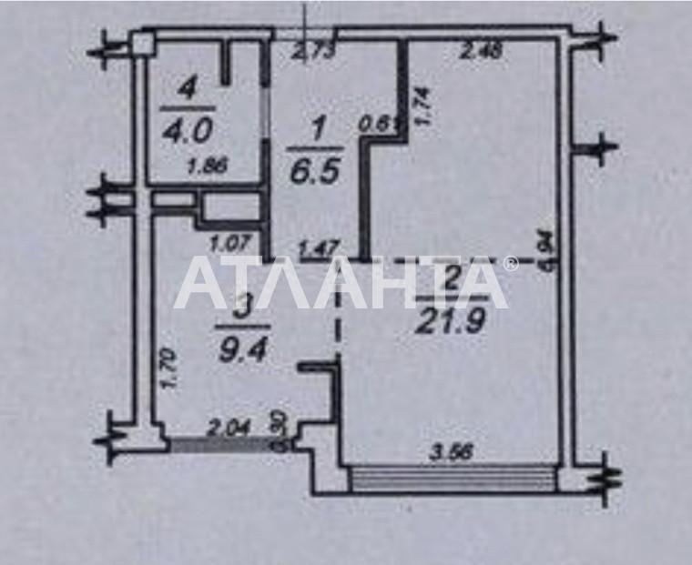 Продается 1-комнатная Квартира на ул. Французский Бул. (Пролетарский Бул.) — 96 000 у.е. (фото №8)