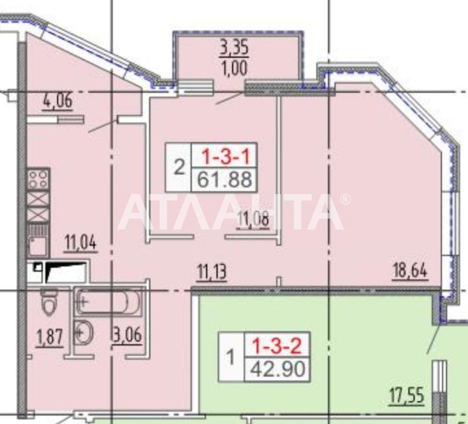 Продается 2-комнатная Квартира на ул. Итальянский Бул. (Томаса Ул.) — 83 538 у.е. (фото №5)