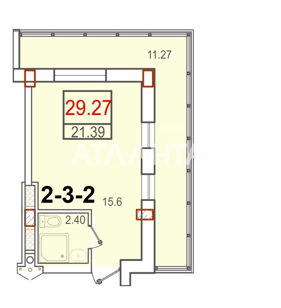 Продается 1-комнатная Квартира на ул. Бочарова Ген. — 21 800 у.е. (фото №8)
