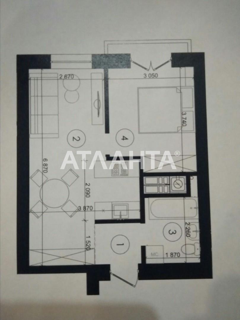 Продается 1-комнатная Квартира на ул. Чехова — 22 000 у.е. (фото №4)