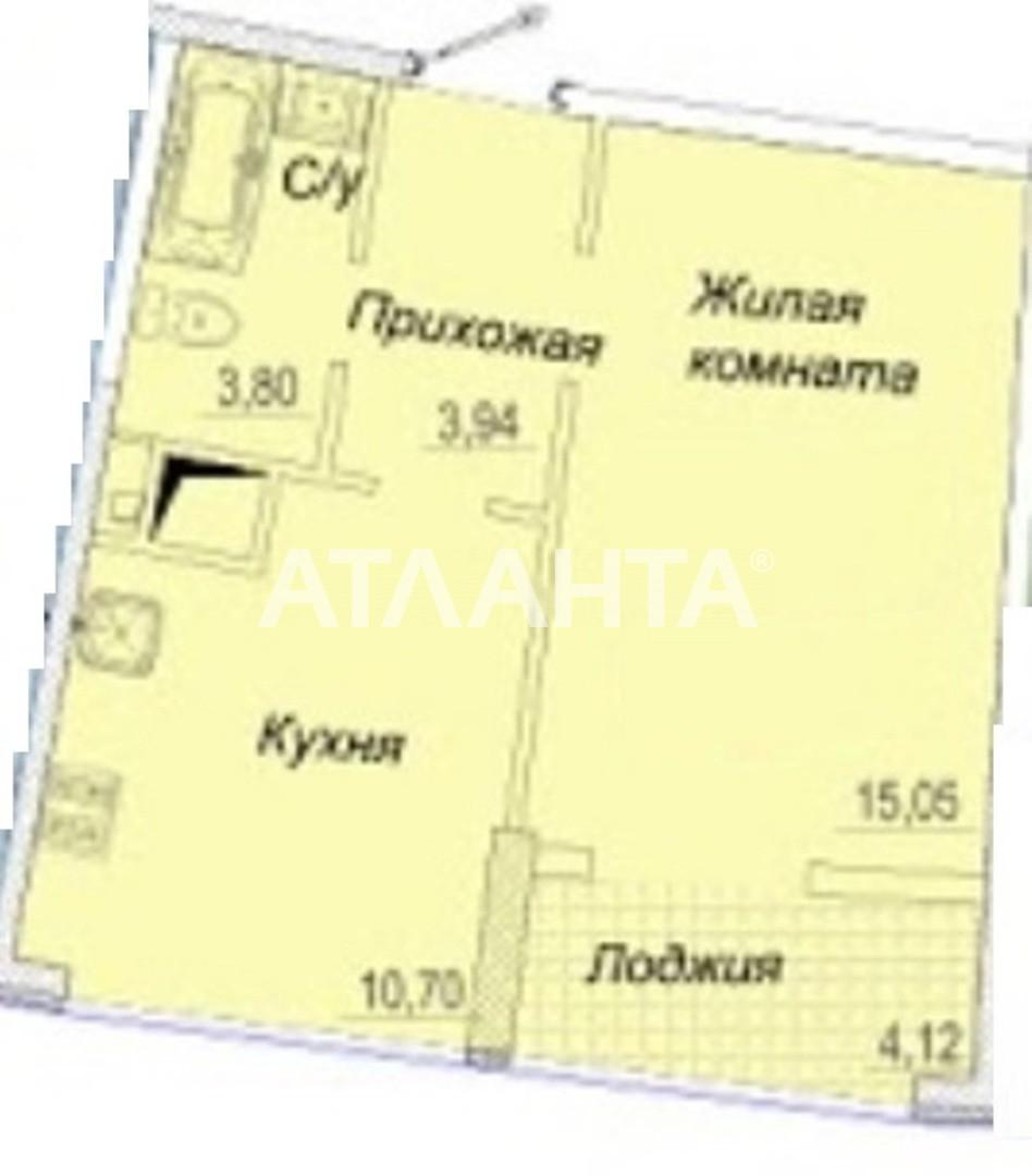 Продается 1-комнатная Квартира на ул. Каманина — 38 500 у.е. (фото №7)