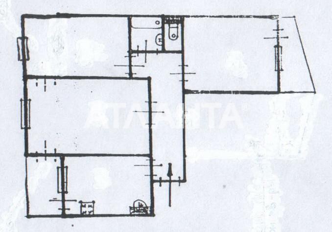 Продается 3-комнатная Квартира на ул. Добровольского Пр. — 47 000 у.е. (фото №7)