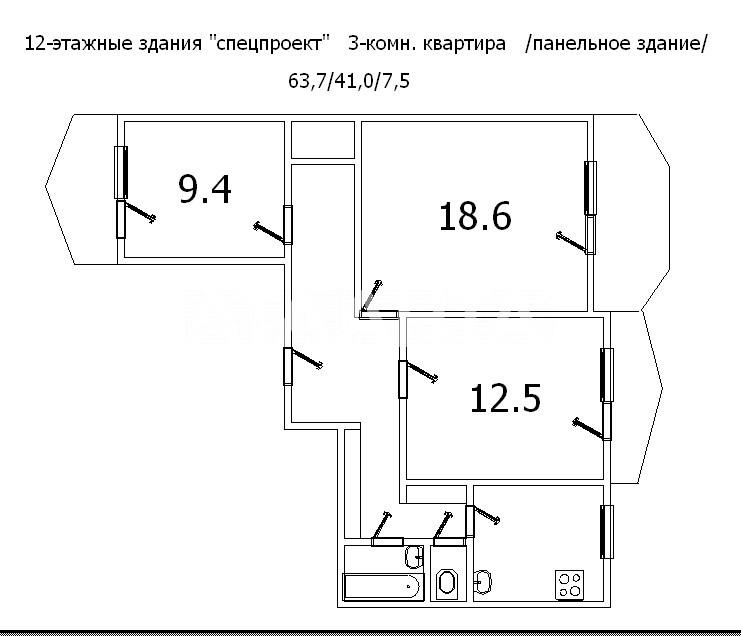 Продается Коммунальная на ул. Добровольского Пр. — 41 000 у.е. (фото №20)