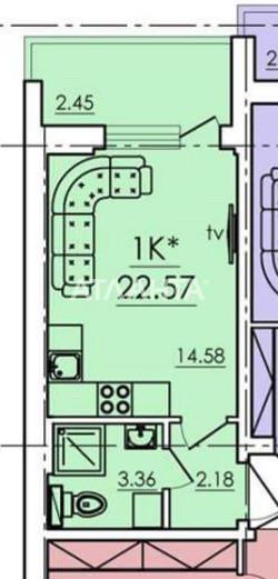 Продается 1-комнатная Квартира на ул. Сахарова — 17 000 у.е. (фото №13)