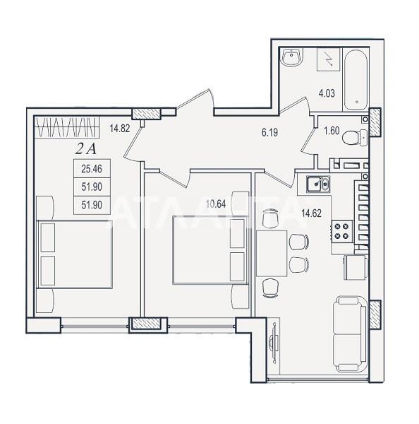 Продается 2-комнатная Квартира на ул. Марсельская — 37 000 у.е. (фото №8)