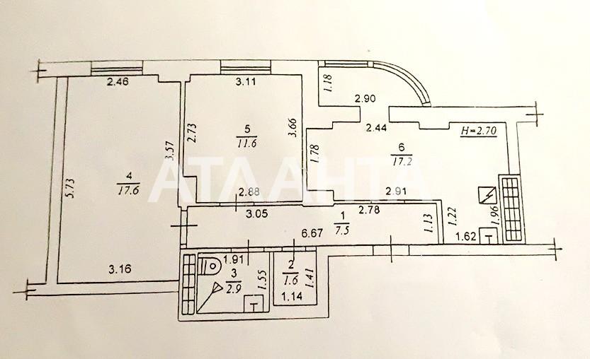 Продается 2-комнатная Квартира на ул. Школьная — 46 000 у.е. (фото №17)