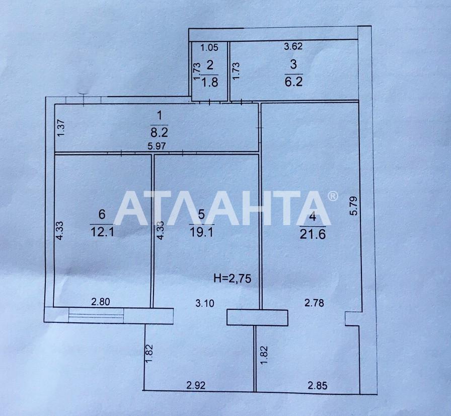 Продается 2-комнатная Квартира на ул. Сахарова — 63 000 у.е. (фото №21)