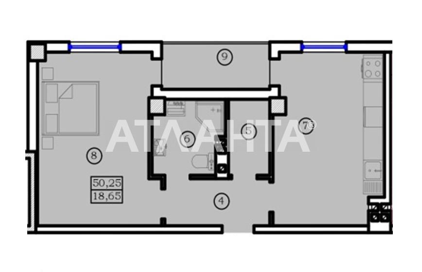 Продается 1-комнатная Квартира на ул. Новосельского (Островидова) — 54 290 у.е. (фото №4)