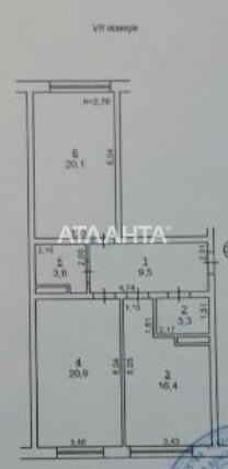 Продается 2-комнатная Квартира на ул. Пестеля — 75 000 у.е. (фото №9)