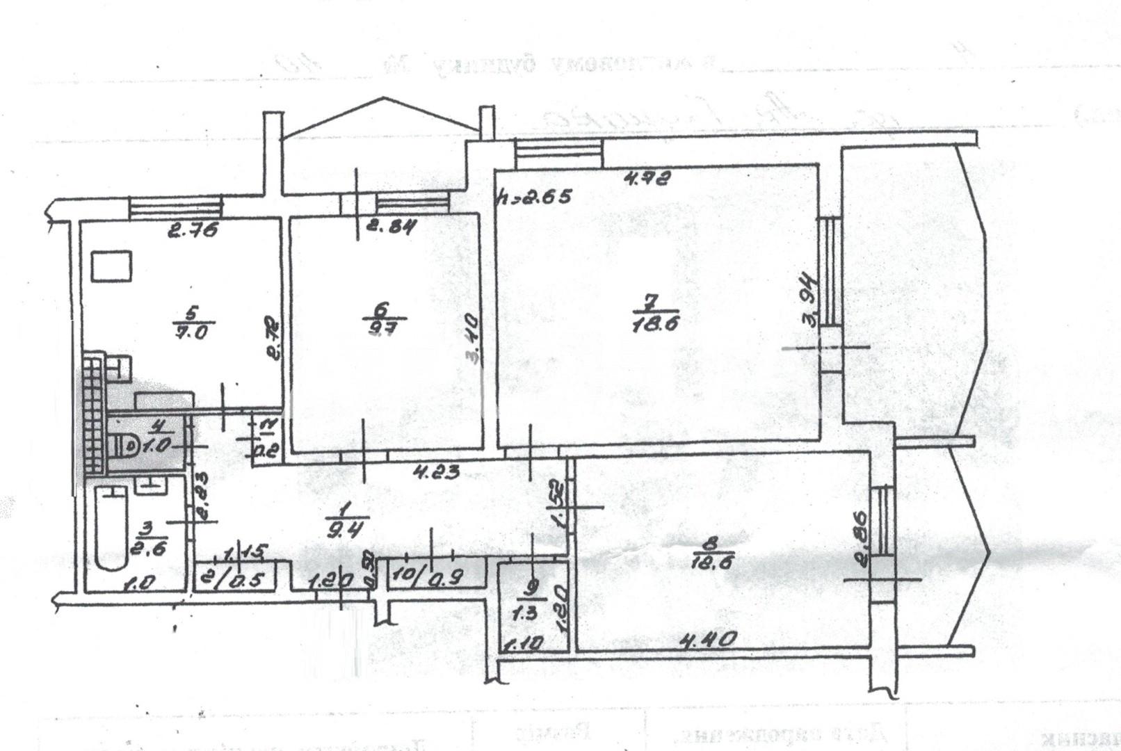Продается 3-комнатная Квартира на ул. Глушко Ак. Пр. (Димитрова Пр.) — 86 000 у.е. (фото №5)