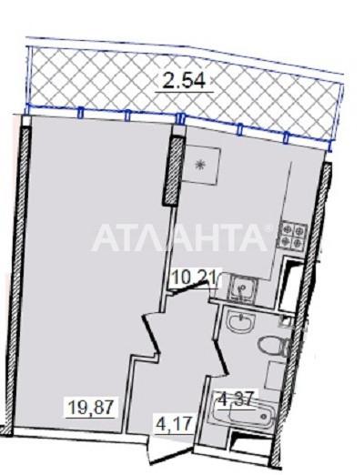 Продается 1-комнатная Квартира на ул. Генуэзская — 75 000 у.е.