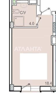 Продается 1-комнатная Квартира на ул. Добровольского Пр. — 18 000 у.е. (фото №10)