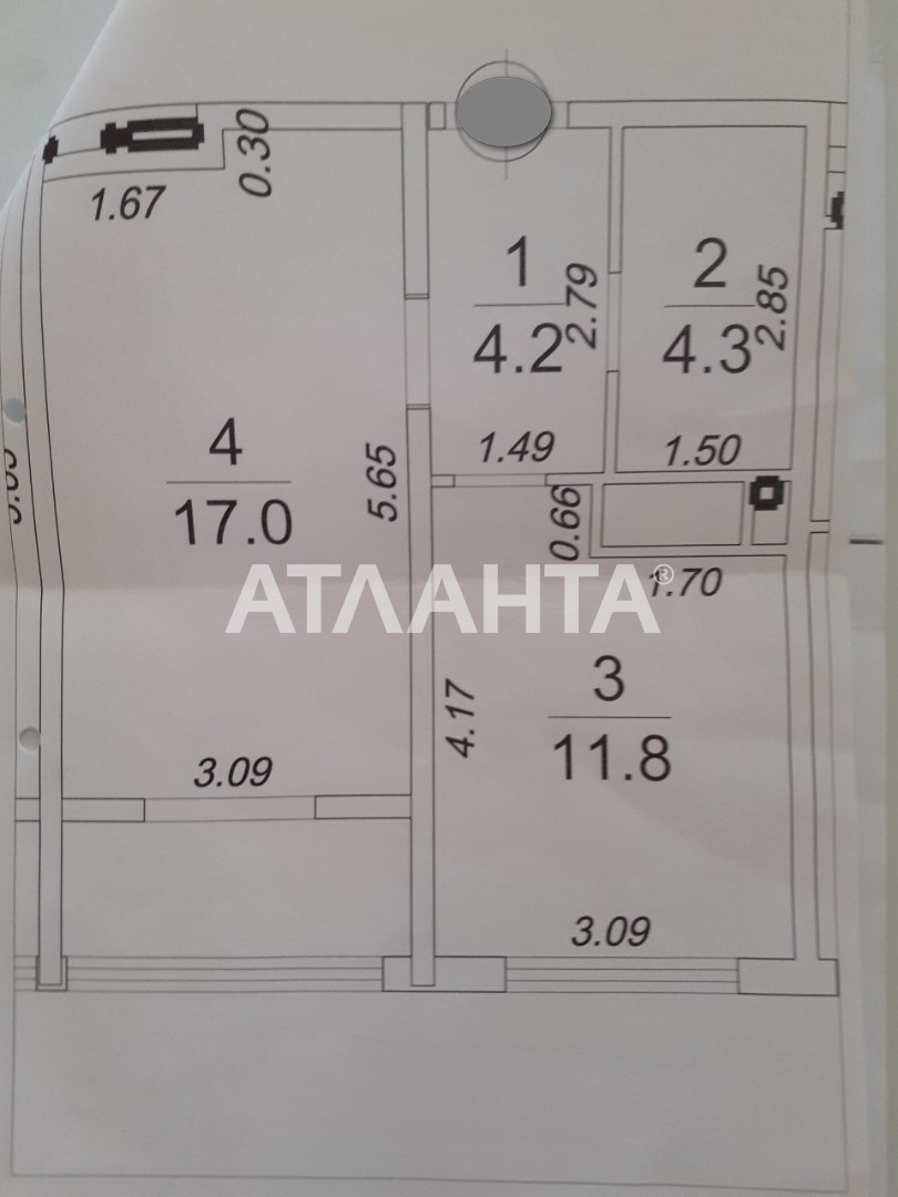 Продается 1-комнатная Квартира на ул. Жемчужная — 44 000 у.е. (фото №7)