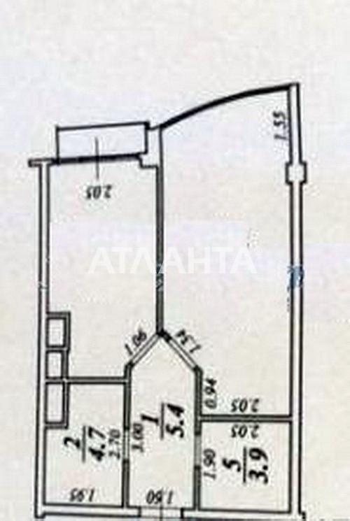 Продается 1-комнатная Квартира на ул. Жемчужная — 41 000 у.е. (фото №11)