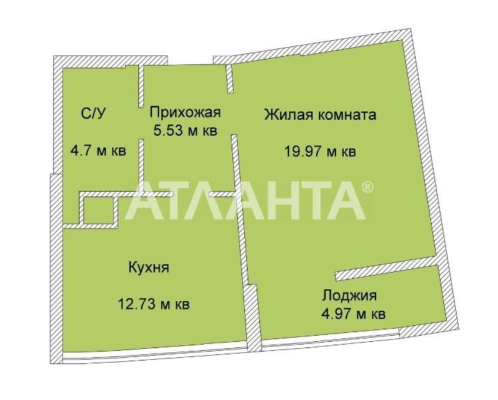 Продается 1-комнатная Квартира на ул. Каманина — 45 500 у.е. (фото №3)
