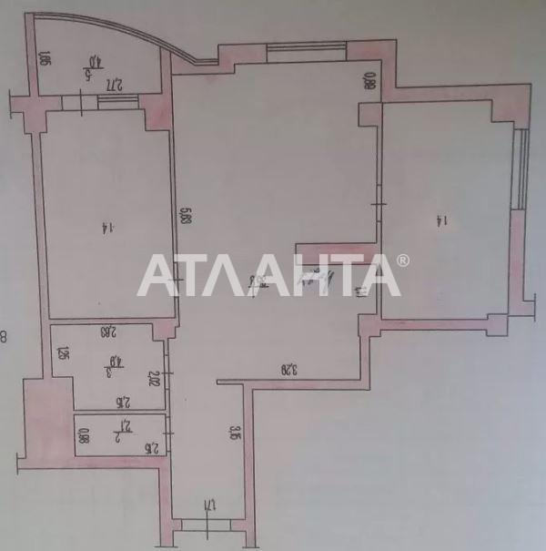 Продается 3-комнатная Квартира на ул. Бочарова Ген. — 30 600 у.е. (фото №3)